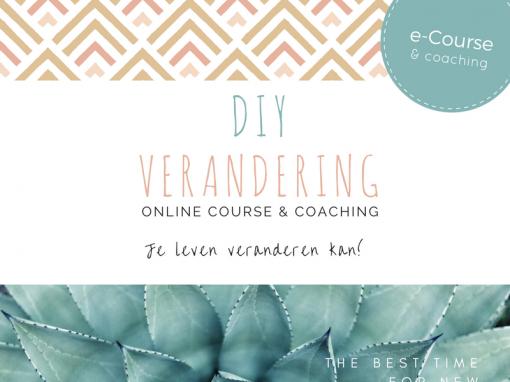 DIY-Verandering Online Cursus en Coaching